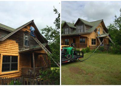 Restore a Log Cabin